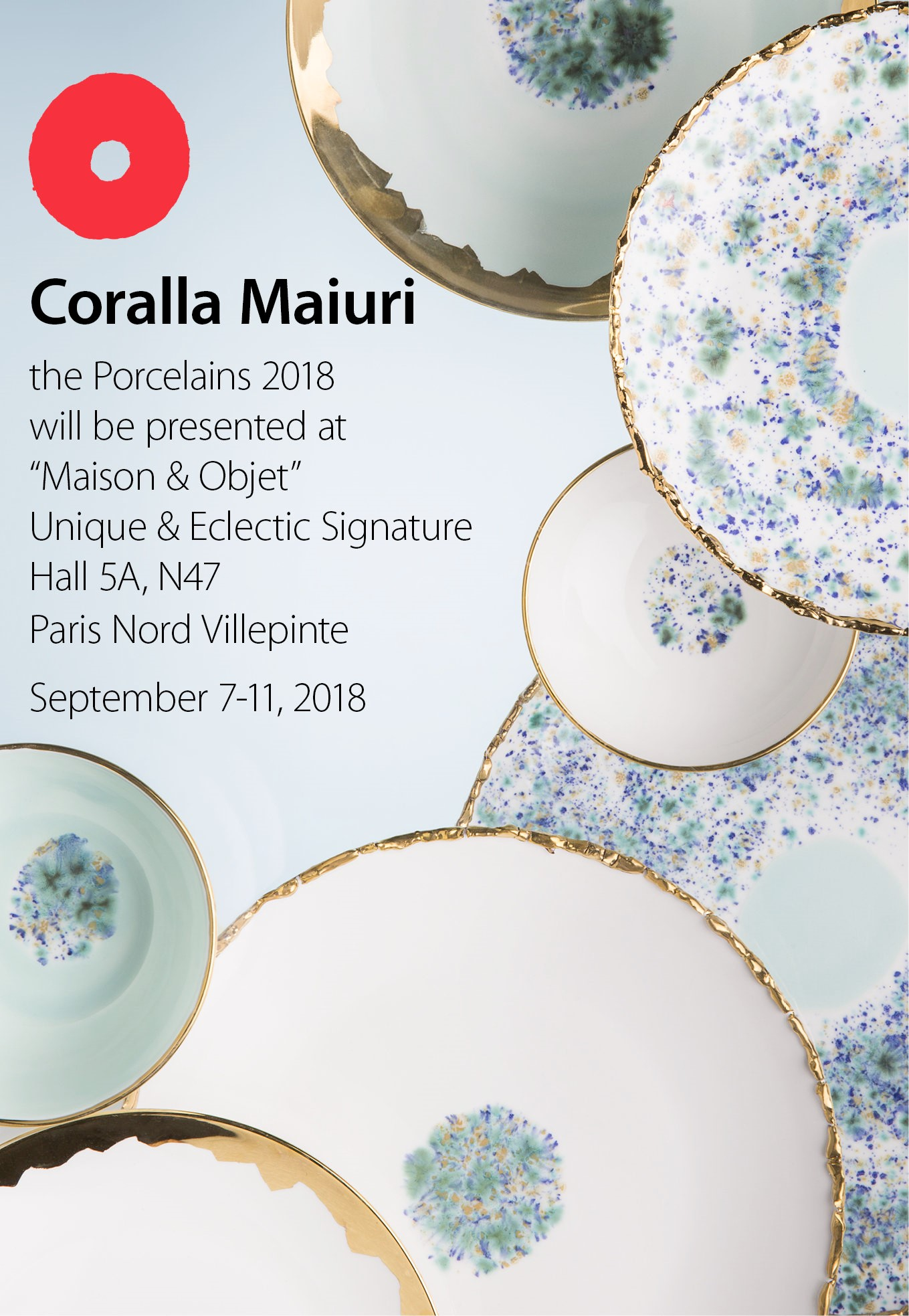Coralla Maiuri @ Maison & Objet Paris 2018